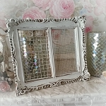 Ornate Resin Jewlery Frame Earring Storage Organizer
