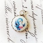 DeStash Bluebird of Happiness Sterling Charm