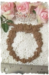 BESTSELLER!  Roses Wreath  DIY Furniture Applique