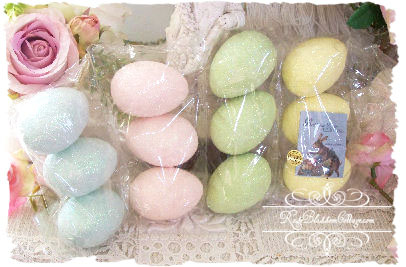 Easter Glitter Eggs 1 Dz