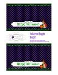 Halloween Printable Baggie Topper Little Witch 2 styles