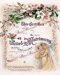 Bride & Angel Wedding Certificate