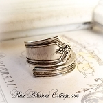 Vintage Silverplate Wrap Spoon Ring