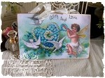 With Fond Love Fairy Glitter Plaque