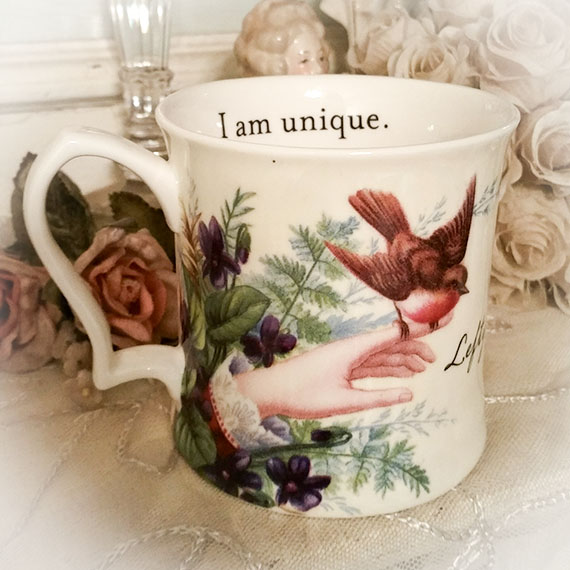 For a Lefty - I am Unique - Mug Gift Boxed