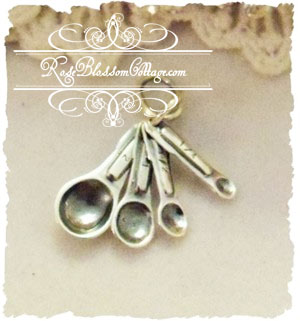 Measuring Spoons Sterling Charm