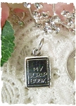 Scrapbook Sterling Silver Charm