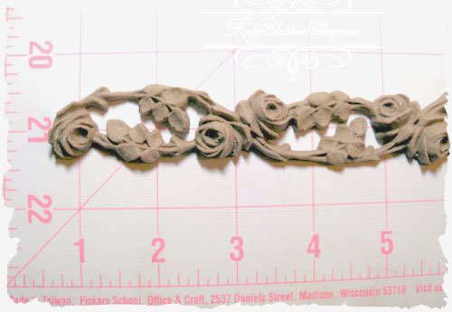Roses Vine Furniture Long Applique