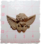 Sweet Faced Cupid Applique