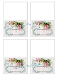 Klein Floral Placecards Notecard Tags Print
