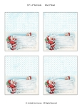 Snowball Children Downloadable Placecards or Gift Tags