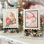 Santas Workshop Christmas Boxes Set of 2