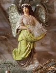 Seraphim Grace Angel for Christmas Table or Mantle